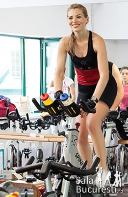 Oana Terteleac - instructor Spinning 168 Sport Station
